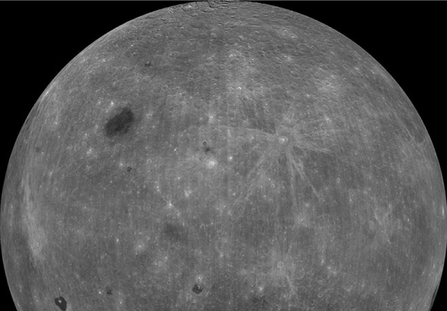 The mission aims for a world first: to land on and study the far side of the moon (pictured). The 20 manned and unmanned lunar landings that have predated it (11 American, eight Soviet and one Chinese) all explored more accessible regions of the moon's surface that are visible from Earth.