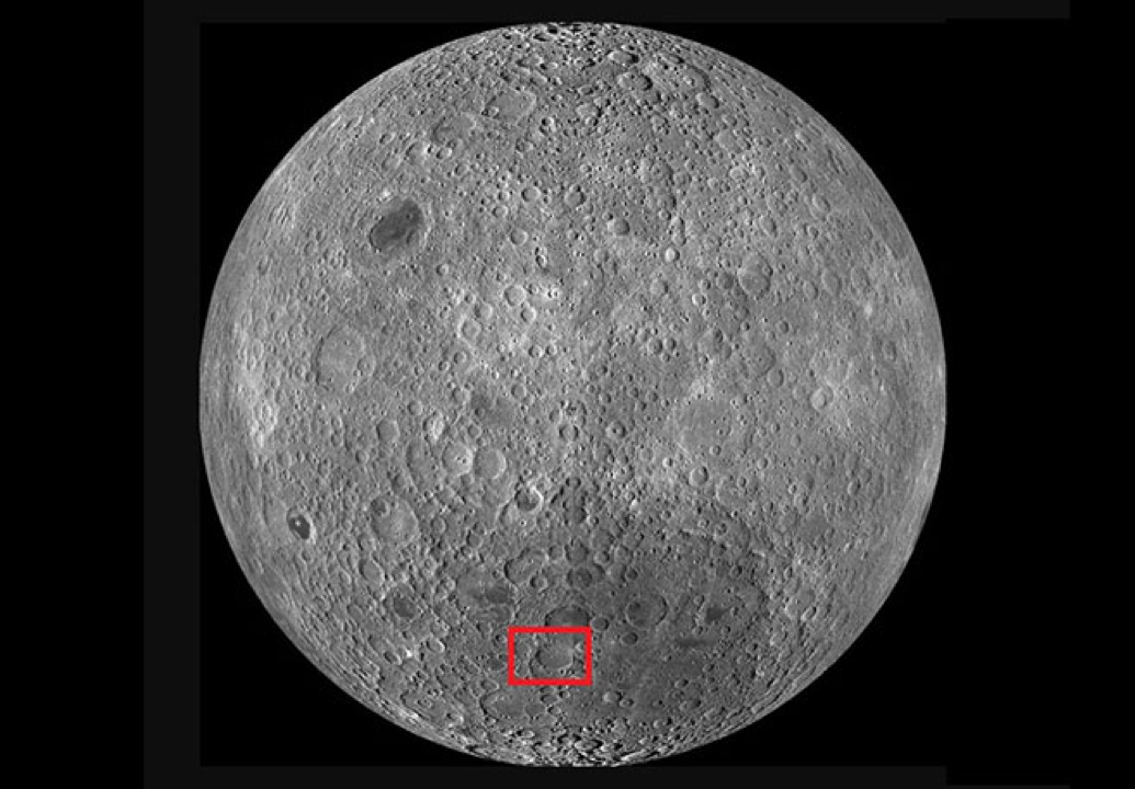 The Chang'e-4's target is the Von Karman Crater, a lunar impact crater roughly 115 miles across and 8 miles deep. By exploring the crater's surface, the mission aims to gain insights into the moon's internal composition.