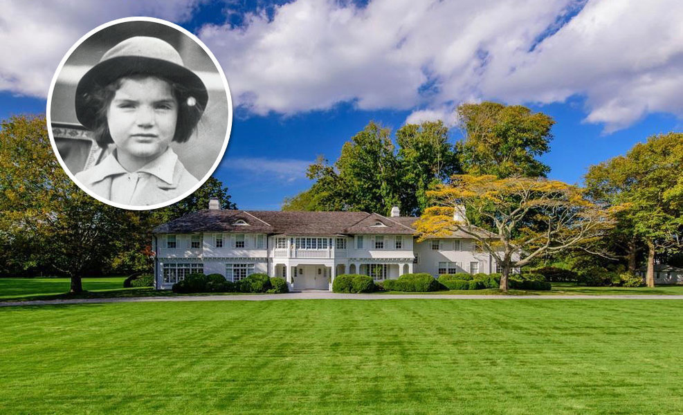 JACKIE KENNEDY ONASSIS'S CHILDHOOD SUMMER HOUSE: