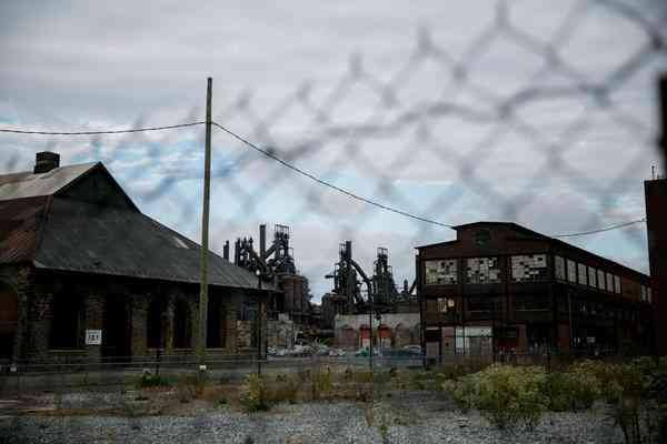 The Bethlehem Steel plant in Pennsylvania. Its parent company went bankrupt in 2001.Sam Hodgson for The New York Times